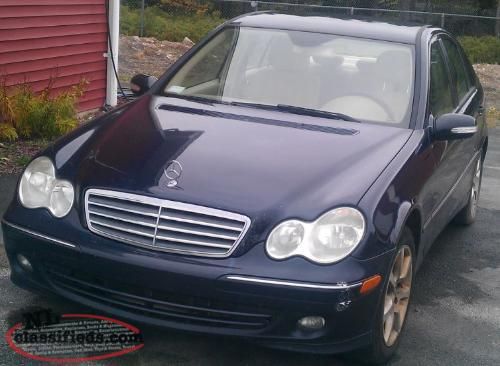 2006 mercedes benz c class new price holyrood for Mercedes benz c class 2006 price