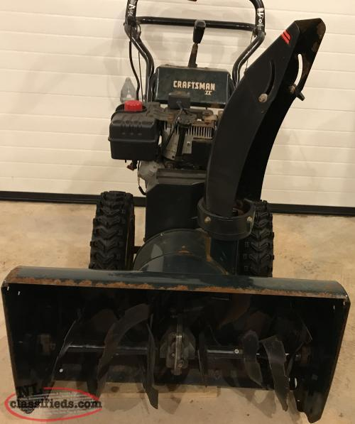 Blower Supercharger For Sale: Craftsman 9 HP 27in Snow Blower For Sale