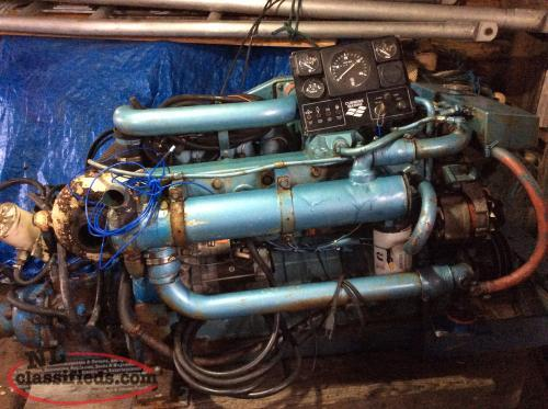 Reduced for sale diesel engine and other boat parts la for Diesel marine motors for sale