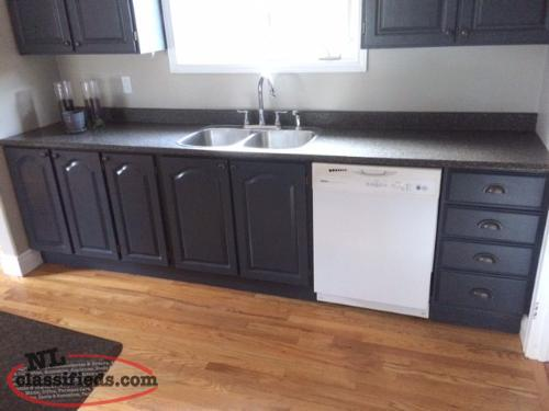 Complete kitchen cabinets counter tops island for Complete kitchen cupboards