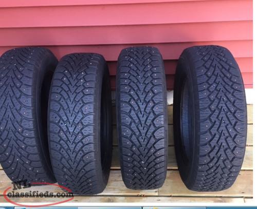 195 65 15 goodyear studded winter tires for sale st john 39 s newfoundland labrador nl. Black Bedroom Furniture Sets. Home Design Ideas
