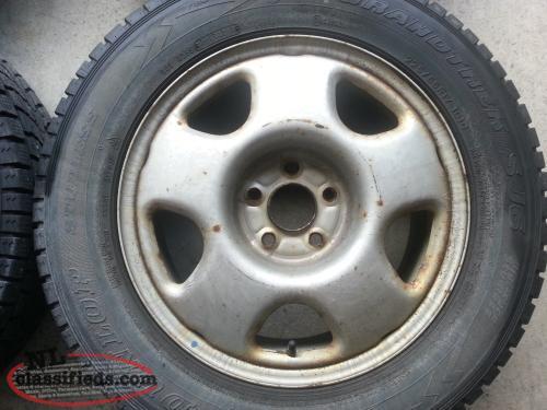 17 honda crv oem steel rims winter tires 225 65 17 tpms sensors cbs newfoundland labrador. Black Bedroom Furniture Sets. Home Design Ideas
