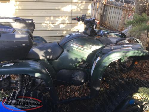 550 grizzly with tracks corner brook newfoundland for Yamaha grizzly 660 tracks