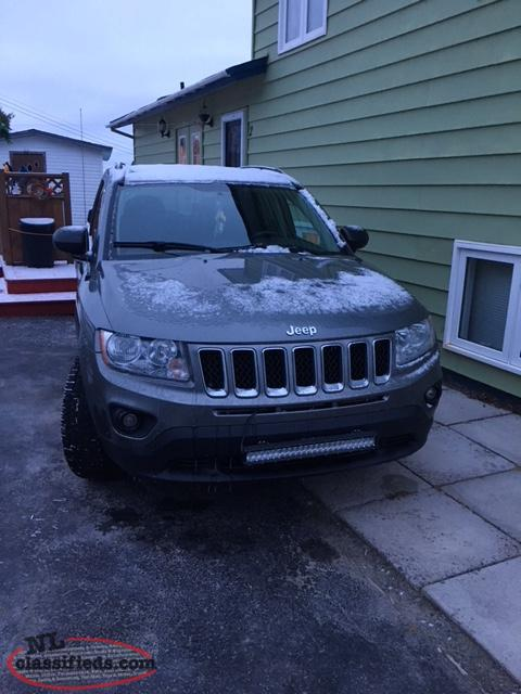 2011 jeep compass north edition 4x4 fox harbour newfoundland labrador nl classifieds. Black Bedroom Furniture Sets. Home Design Ideas