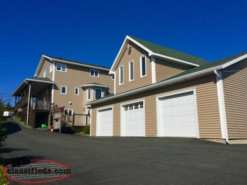 Beautiful two story home w 24x40 dream garage for Dream home nl