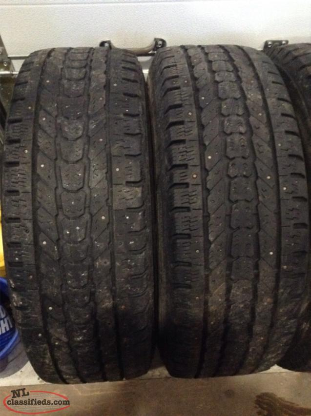 lt265  70r17 firestone winterforce 10 ply studded snow