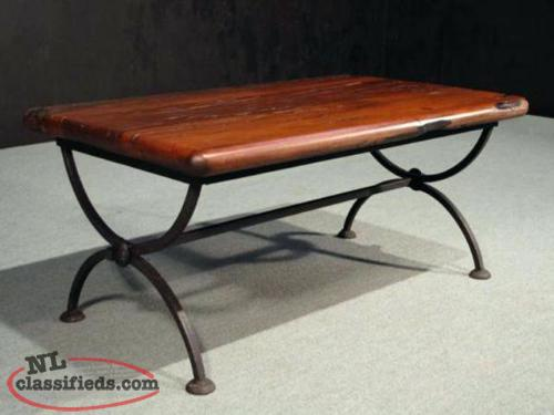 wanted heavy duty cast wrought iron steel legs for coffee table goulds newfoundland labrador. Black Bedroom Furniture Sets. Home Design Ideas