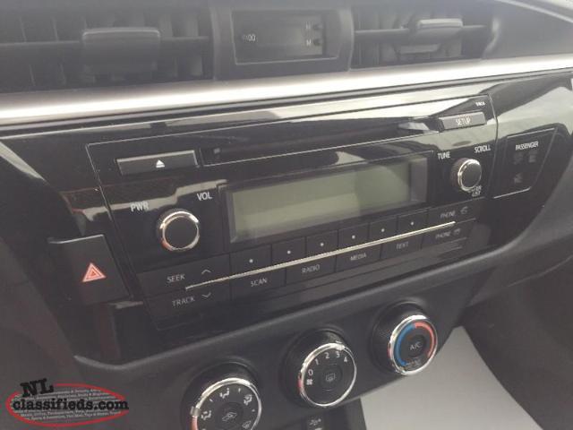 2014 Toyota Corolla Ce Gander Newfoundland Labrador