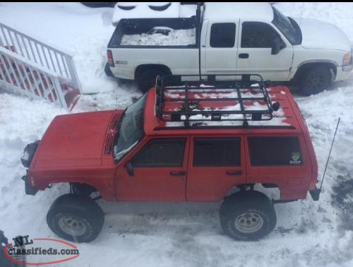 1997 jeep cherokee xj for sale possibly trade for car or. Black Bedroom Furniture Sets. Home Design Ideas