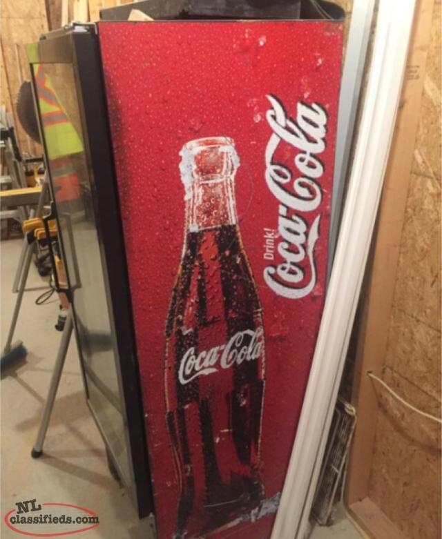 Coke Cola Glass Door Fridge