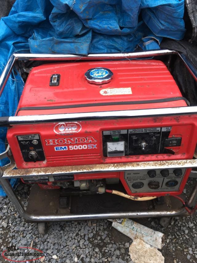 Honda 5000 Watt Generator