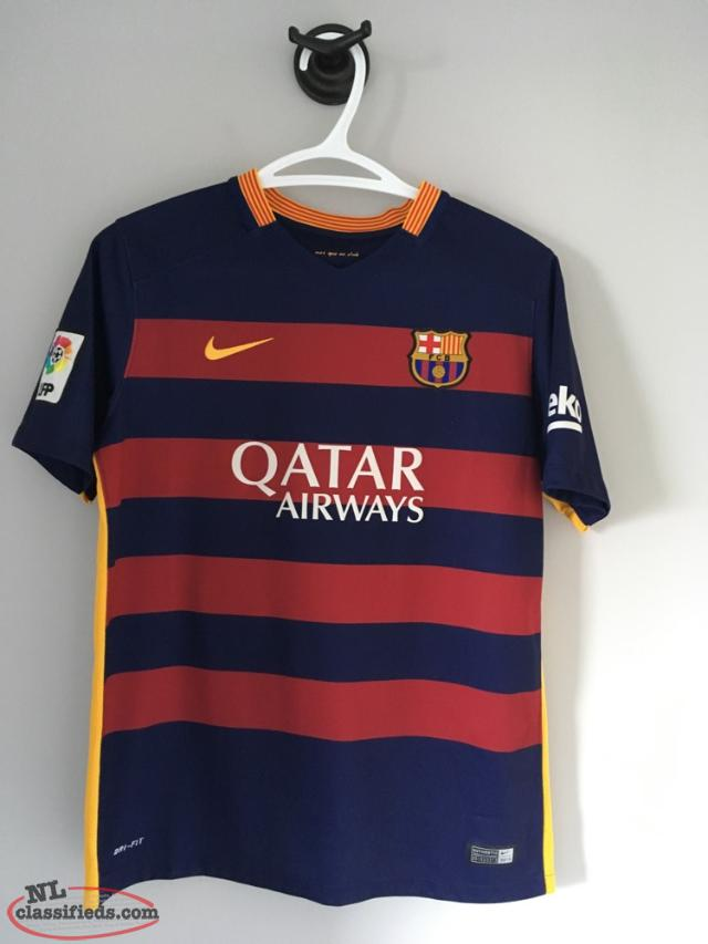 watch f445a 2a902 Authentic Fc Barcelona Lionel Messi 2015-2016 Home Jersey - St. John's,  Newfoundland Labrador | NL Classifieds