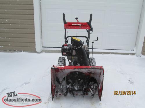 who sells yard machine snow blowers